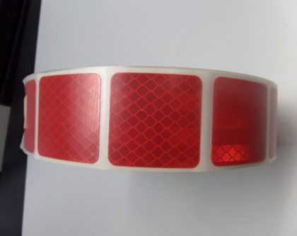 Red segmented reflective tape fleetmark aloadofball Choice Image